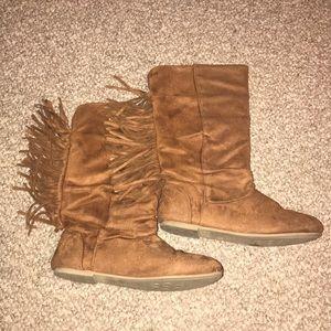 Girls Cowboy Arizona Brown Boots